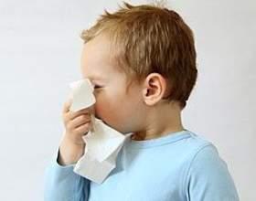 Алергічний риніт у дітей фото