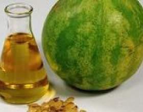 Кавунове масло: властивості і застосування фото
