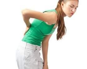 Біль у спині справа вище попереку і її причини фото