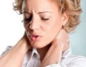 Болі при шийному остеохондрозі, як усунути біль? фото