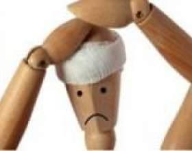 Болить голова після удару головою, що робити? фото