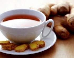 Чай з імбиром - користь і шкода фото