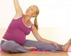 Гімнастика для вагітних третій триместр фото