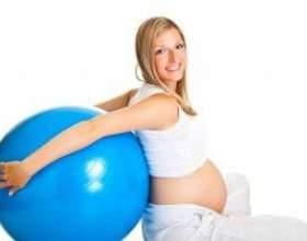 Гімнастика для вагітних другий триместр фото