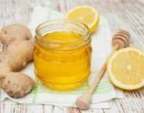 Імбир, мед і лимон для імунітету фото