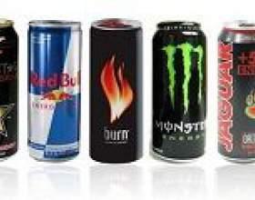 Енергетичні напої (енергетики): склад, шкода, види фото