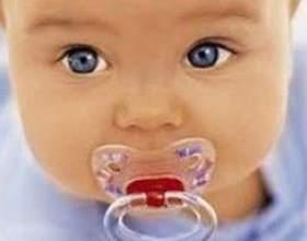 Як відучити дитину від пустушки? фото