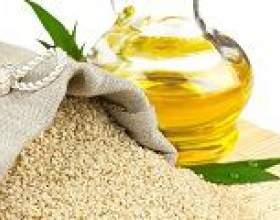 Кунжутне масло: властивості, користь і шкода, протипоказання фото