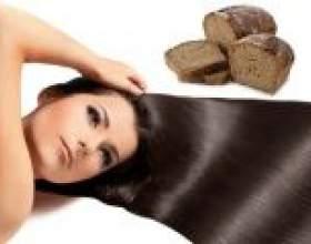 Маска для волосся з хліба від випадіння волосся фото