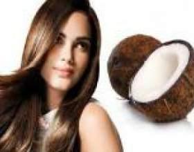 Маска для волосся з кокосовим маслом в домашніх умовах фото