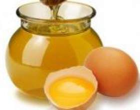 Маска для волосся з медом і яйцем для росту волосся фото