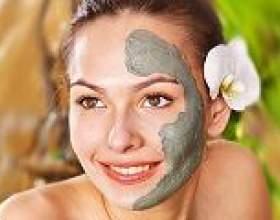 Маски для обличчя з лікувальної глиною фото