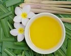 Масло цитронелли: застосування, властивості фото
