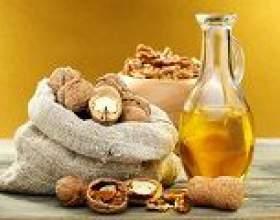 Масло волоського горіха: властивості, користь і шкода, застосування фото