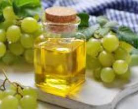 Масло виноградної кісточки для особи і для волосся фото