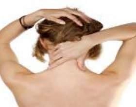 Масаж при остеохондрозі шийного відділу фото