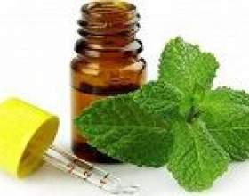 Ментолове масло: властивості і застосування фото