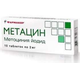 Метацин фото
