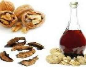 Настоянка волоського горіха - застосування фото