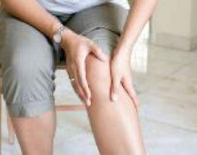 Німіє нога до колін, вище, нижче коліна, що робити? фото