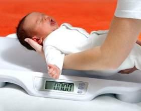 Норма набору ваги у немовлят - таблиця з показаннями фото