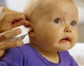 Отит у дітей - симптоми, лікування, середній отит, гнійний отит, катаральний отит у дітей фото