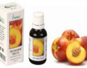 Персикове масло в ніс, застосування, як капати? фото