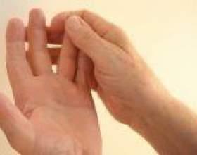 Чому німіє безіменний палець на лівій руці? фото