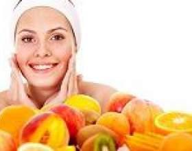 Рецепти фруктових масок для обличчя фото