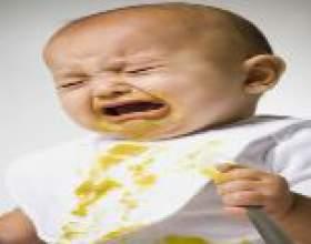 Блювота після їжі у дитини: причини фото