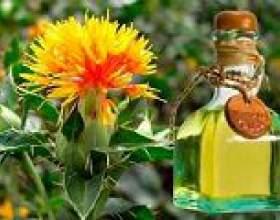 Сафлорова олія: користь і шкода фото