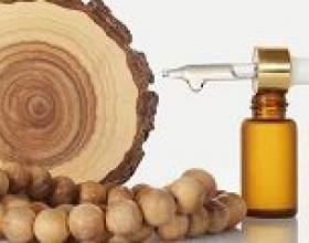 Сандалове масло: застосування, властивості фото