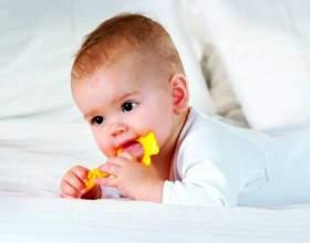 Схема прорізування зубів у дітей фото