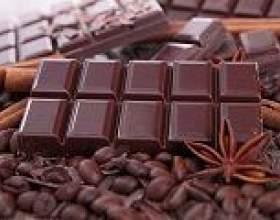 Шоколад - калорійність, корисні властивості, шкоду фото