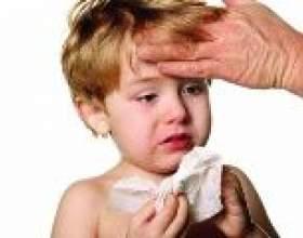 Сильний кашель у дитини, температура: що робити? фото