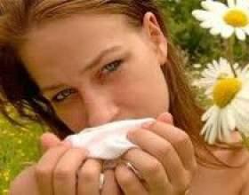 Симптоми алергічного риніту фото