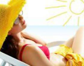 Сонячні опіки. Лікування в домашніх умовах фото