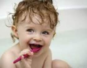 Вчимо дітей чистити зуби - рекомендації фото