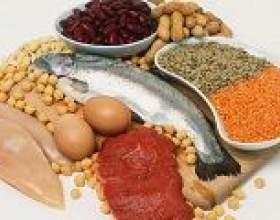 У яких продуктах харчування міститься білок? фото