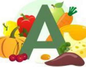 У яких продуктах міститься вітамін а? фото