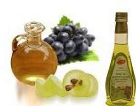 Виноградна олія для особи, застосування фото