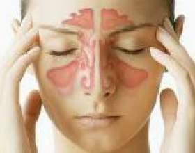 Запалення гайморових пазух: симптоми, лікування фото