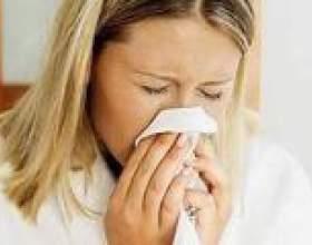 Закладено (забитий) ніс, болить голова, температура, що робити? Як лікувати? фото