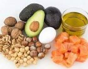 Жирні кислоти: в яких продуктах харчування містяться? фото